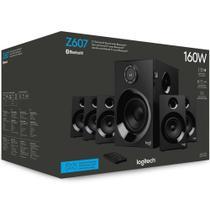 Caixa de Som - 5.1 Bluetooth - Logitech Z607 -