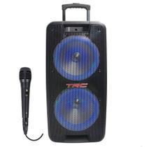 Caixa de Som Acustica TRC 5578 Bluetooth - 780w RMS Potente -