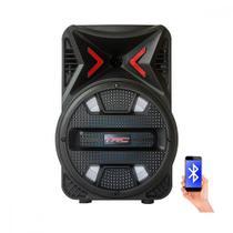 Caixa de Som Amplificada 5511 Bluetooth USB Entrada para microfone Bateria Interna 110W TRC -