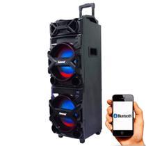 Caixa de som Amplificada ACA 750 Amvox - Alto falante duplo -