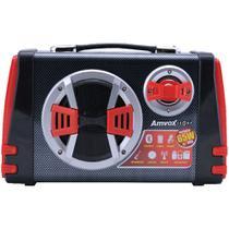Caixa de Som Amplificada Amvox ACA 110 65W MP3 Preta - Bivolt -