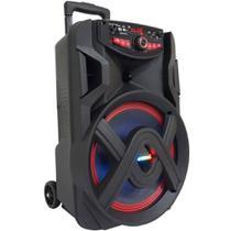 Caixa de Som Amplificada Amvox Aca 401 Tsunami Com Bluetooth, Rádio Fm, Usb 400w -