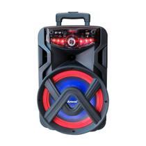 Caixa De Som Amplificada Amvox Aca180 New X Sem Fio Portátil -