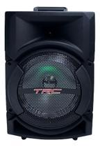 Caixa De Som Amplificada Bluetooth 220w Led Trc 5522 -