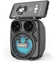 Caixa De Som Amplificada Bluetooth Potente Radio FM Pendrive - KIMISO