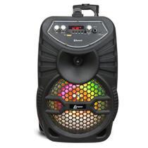 Caixa de Som Amplificada c/ Bateria Interna Lenoxx Bluetooth/USB/SD/P10/AUX CA-100 -
