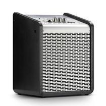 Caixa de Som Amplificada Frahm Chroma Battery Silver 100 WRMS USB Bluetooth - Prata -