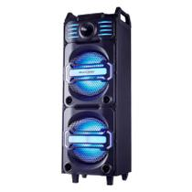 Caixa de Som Amplificada Party Speaker DJ Bluetooth 350W RMS - Multilaser
