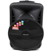 Caixa De Som Amplificada Polyvox Bluetooth Usb 500w Bivolt -