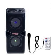 Caixa de Som Amplificada Portatil Bluetooth 60W RMS - Trc