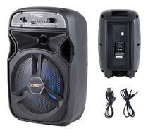 Caixa de som amplificada portatil bluetooth trc5510 bivolt trc -