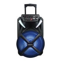 Caixa de Som Amplificada Sumay X-Prime - 300w Bluetooth, Bateria Interna, Microfone com Fio -