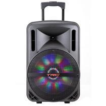 Caixa de Som Amplificada TRC 336, Bluetooth, USB, LED, 290W RMS -