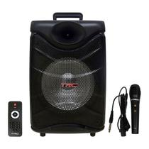Caixa De Som Amplificada TRC 517 Bluetooth Usb/Fm/Aux/Sd 190W -