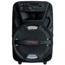 Caixa de Som Amplificada TRC 5515 com Bluetooth, Rádio FM e Entrada USB - 150W -