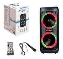 Caixa de Som Amplificada TRC 5540 400W Com Bluetooth e Usb -
