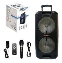 Caixa de Som Amplificada TRC 5570 700W Com Bluetooth e Usb -