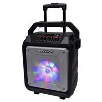 Caixa de Som Amplificada XB450 Polyvox Bluetooth Bateria200w -