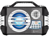 Caixa de Som Amplificadora Lenoxx Sound Wave - CA 305 100W Bluetooth Portátil USB com Microfone