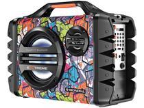 Caixa de Som Amplificadora Mondial Multi Connect - Thunder VI Extreme 120W Portátil MP3