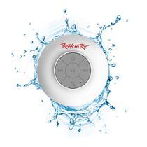 Caixa de Som Aquarius Acqua Rock in Rio Branca MTC1311, Bluetooth, Resistente à Água, Funções Multimídia e Viva-voz -