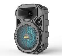 Caixa de som Bluetooth 10w Alto-falante móvel para karaokê KMS-3382 - Bateria 1200mAh - - Kimiso