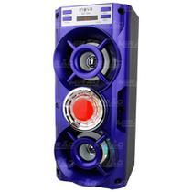 Caixa de Som Bluetooth 10w USB/FM/P2 Azul - RAD-10042 - Inova
