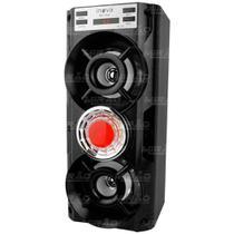 Caixa de Som Bluetooth 10w USB/FM/P2 Preto - RAD-10042 - Inova