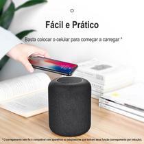 Caixa de Som Bluetooth 2n1 Com Carregamento Sem Fio Baseus Encok E50 -