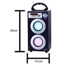 Caixa De Som Bluetooth 30w SD USB FM - Newlink SP106 - Csl Importadora Ltda