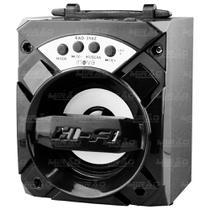 Caixa de Som Bluetooth 6W FM/SD/USB Preto - RAD-356Z - Inova