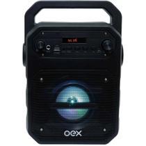 Caixa de som bluetooth 90w oex fun sk415 preto -