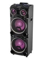 Caixa de Som Bluetooth Amplificada Gradiente Power Bass, USB -