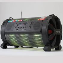 Caixa de som Bluetooth Bazuka XB860 Polyvox 480wRadio FM LED -