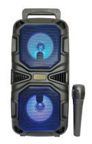 Caixa de som Bluetooth com Microfone Incluso Kimiso -