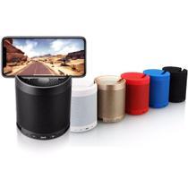 Caixa de som bluetooth com suporte para celular 5w - HF-Q3 Preta - Inova