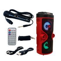 Caixa de Som Bluetooth D-S13 Hi-Fi Speaker Alta Fidelidade de Som - Grasep -