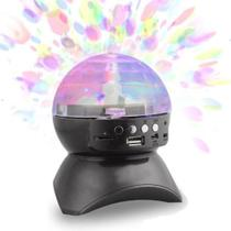 Caixa de Som Bluetooth Globo LED SD USB FM CS-A24BT - Next trading