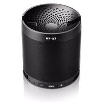 Caixa de som bluetooth hf-q3 multifuncional speaker preto -