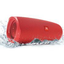 Caixa de Som Bluetooth JBL Charge 4 Original Red Vermelha 30W RMS À Prova D'água IPX7 JBLCHARGE4RED -