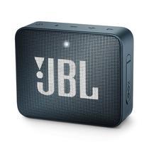 Caixa de Som Bluetooth JBL GO 2 Navy Azul Marinho Speaker Portátil à Prova D'água -