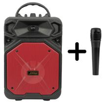 Caixa de som bluetooth  Karaoke com  microfone P10 CS35 - YBF
