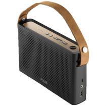 Caixa De Som Bluetooth Multilaser Pulse Sp230 Função Power Bank Metalizada 30 RMS -