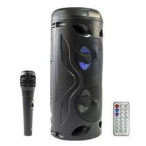 Caixa de som Bluetooth portátil, leve, amplificada, sem fio - Okfly