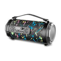 Caixa De Som Bluetooth Pulse Paint Blast Bazooka Sp362 - Multilaser