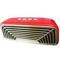 Caixa de som Bluetooth retro com radio fm usb cartão sd - Infokit