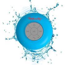 Caixa de som Bluetooth Rock in Rio Azul Aquarius -