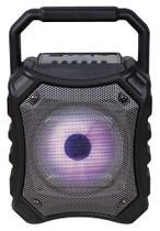 Caixa de Som Bluetooth Speaker Bomber Preta - Newlink