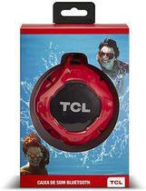 Caixa de Som Bluetooth TCL BS05B à Prova D'Água Vermelha 5W -