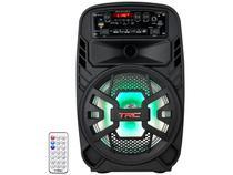 Caixa de Som Bluetooth TRC 510 Ativa Amplificada - 100W USB